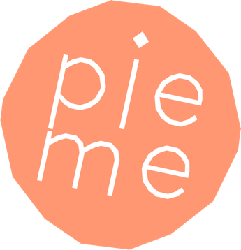 Pie Me Logo in yellow